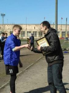 Кращий гравец  турнiру памятi Героiв НС - Чернов Олдр